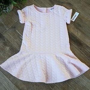 Old Navy 👧 Toddler Girls Pink Swing Dress